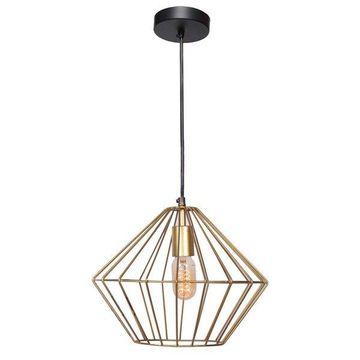 Ren Wil Brass Empire 1 Light Single Pendant