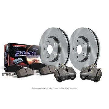 Power Stop KCOE6550 Autospecialty Brake Kit W/Calipers -Front