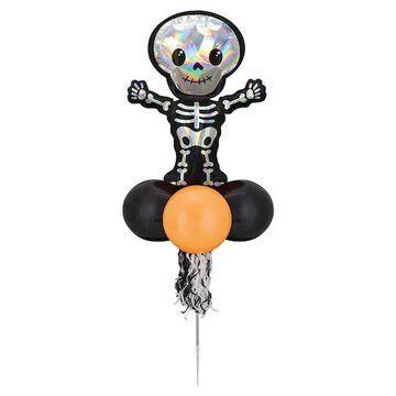 Iridescent Skeleton Balloon Yard Stick By Amscan in Orange   Michaels