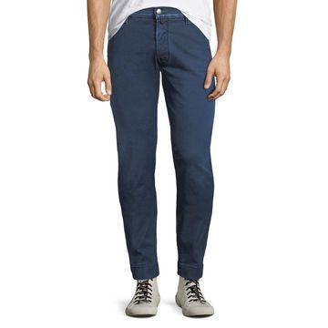 Men's Denim Straight-Leg Jeans