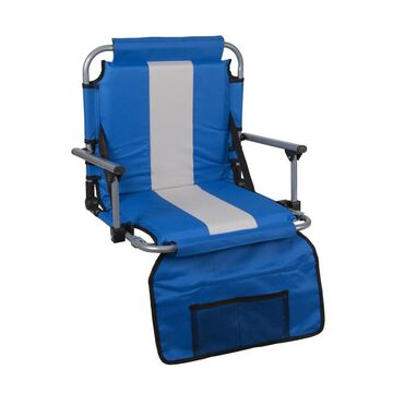 Stansport Blue Folding Camping Chair