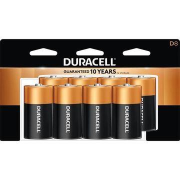 Duracell Coppertop Alkaline D Batteries