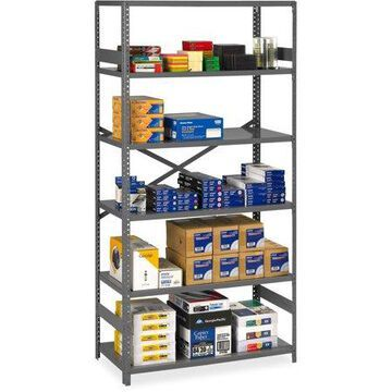 Tennsco, TNNESP61836MGY, Commercial Shelf, 1 Carton, Medium Gray