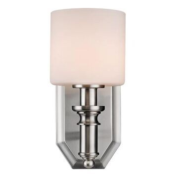 Golden Lighting 2116-BA1-OP Beckford 1 Light Bathroom Sconce - 4.875