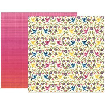 """Paige Evans Wonders Paper 21 Double-Sided 12"""" x 12""""Cardstock, 25 Sheets By American Crafts 