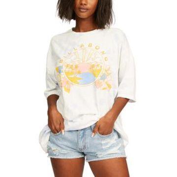 Billabong Juniors' Sun And Sea Cotton Graphic-Print T-Shirt