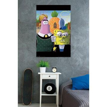Trends International SpongeBob American Gothic Wall Poster 22.375