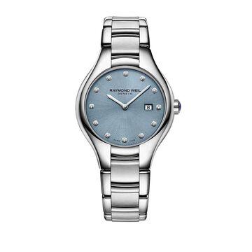 Raymond Weil Women's 5132-ST-50081 'Noemia' Diamond Stainless Steel Watch