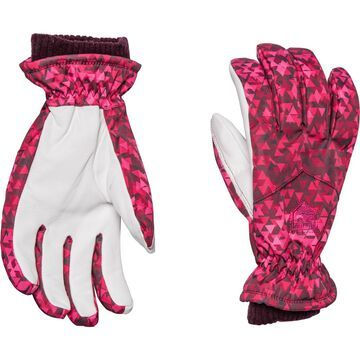 Hestra PrimaLoft Leather Rib-Knit Gloves - Insulated (For Women)