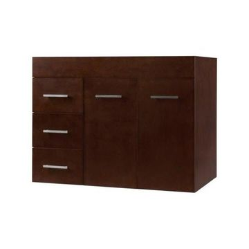 Ronbow Bella 31 3/4 Mount Bathroom Vanity Base Cabinet