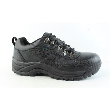 Propet Mens Shield Black Safety Shoes Size 9
