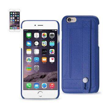 Iphone 6 Genuine Leather Hand Strap Case In Ultramarine