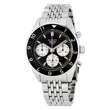 Tag Heuer Heritage Automatic Black Dial Men's Watch CBE2110.BA0687