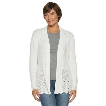 Women's Napa Valley Pointelle Cardigan