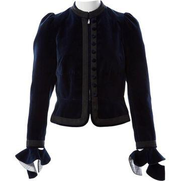 Sonia Rykiel Navy Velvet Jackets
