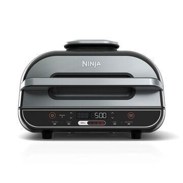 Ninja Foodi XL 5-in-1 Indoor Grill with 4-Quart Air Fryer, Roast, Bake, Dehydrate, BG500A