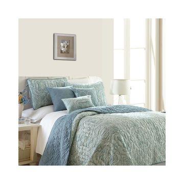 Pacific Coast Textiles Bali 6-pc. Reversible Quilt Set