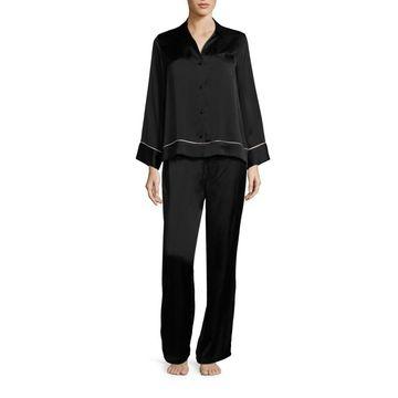 Josie Natori Key Essentials Silk Pajamas