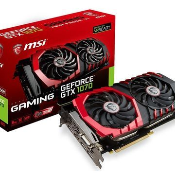 MSI Gaming GeForce GTX 1070 8GB GDDR5 SLI DirectX 12 VR Ready Graphics Card (GeForce GTX 1070 Gaming