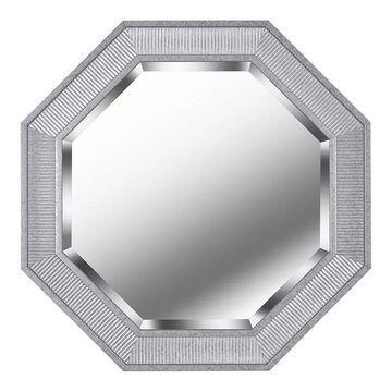 Kenroy Home Galavant Galvanized Wall Mirror, Grey, 34X34