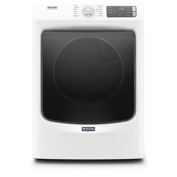 Maytag 7.3-cu ft Stackable Electric Dryer (White) ENERGY STAR