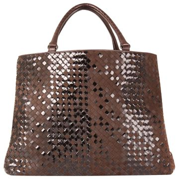 Bottega Veneta Brown Suede Handbags