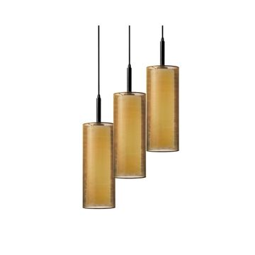 Sonneman Lighting Puri Black Brass Pendant