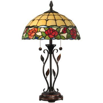 Dale Tiffany Rose Table Lamp