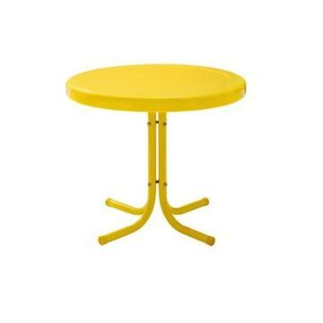 Crosley Retro Metal Side Table