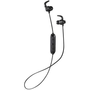 JVC Deep Bass Wireless Xtreme Xplosives Headphones with Remote and Mic - HAET103BTB (Black)