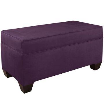 Skyline Furniture Velvet Custom Bench