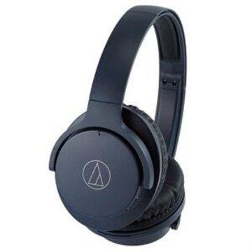 Audio Technica QuietPoint Wireless Active Noise-Cancelling Headphones - Navy