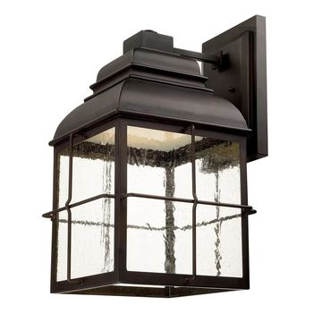 Lanier Old Bronze LED Outdoor Wall Lantern