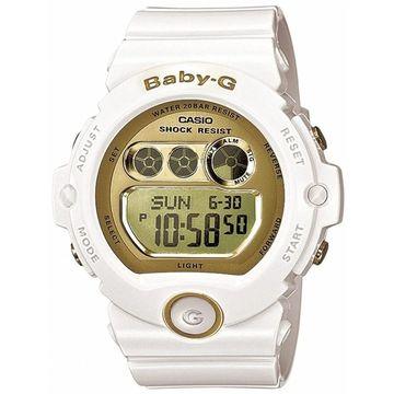 Casio Women's BG6901-7 'Baby G' Chronograph White Resin Watch