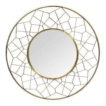 Stratton Home Decor Aimee Wall Mirror