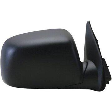 62067G - Fit System Passenger Side Mirror for 04-12 Chevy Colorado P-U, GMC Canyon P-U, black, foldaway, Manual