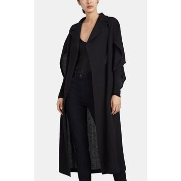 Yohji Yamamoto Cutout Linen Coat