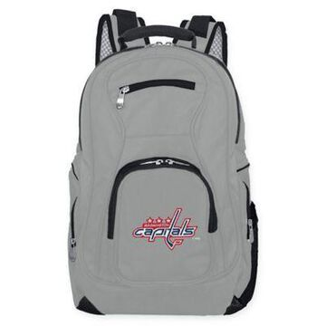 NHL Washington Capitals Laptop Backpack in Grey