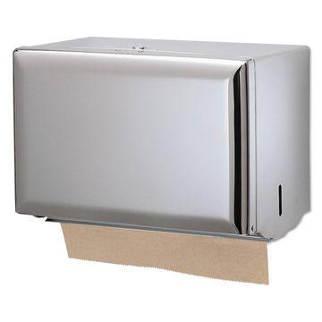 San Jamar Singlefold Paper Towel Dispenser Chrome 10 3/4 x 6 x 7 1/2 T1800XC