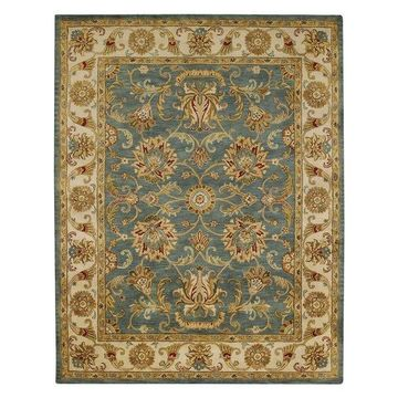 Capel Guilded 5029 Rug, Sapphire, 4'0