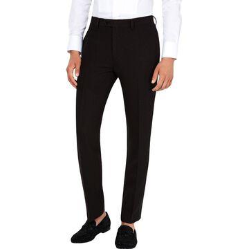 Tallia Mens Slim-Fit Dot-Print Dress Pants