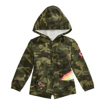 Epic Threads Toddler Girls Cotton Hooded Camo Jacket, Created For Macy's