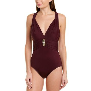 Miraclesuit Womens Rockstar One-Piece
