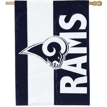Evergreen Los Angeles Rams Embellish House Flag