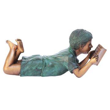 Design Toscano 7-in H x 6-in W Children Garden Statue