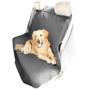 Coverking Seat Shield Canvas Seat Covers in Grey, Rear Seat Cover
