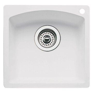 Blanco 440205 Granite Bar Kitchen Sink, White