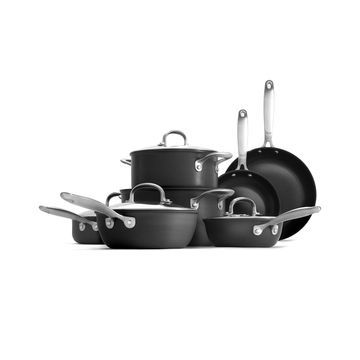 OXO 12-PC. Hard Anodized Cookware Set