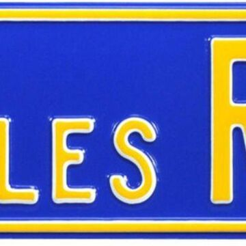 Authentic Street Signs Los Angeles Rams Avenue Sign