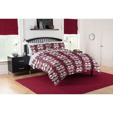 Mississippi State Bulldogs 5-Piece Queen Bed in a Bag Comforter Set Multi